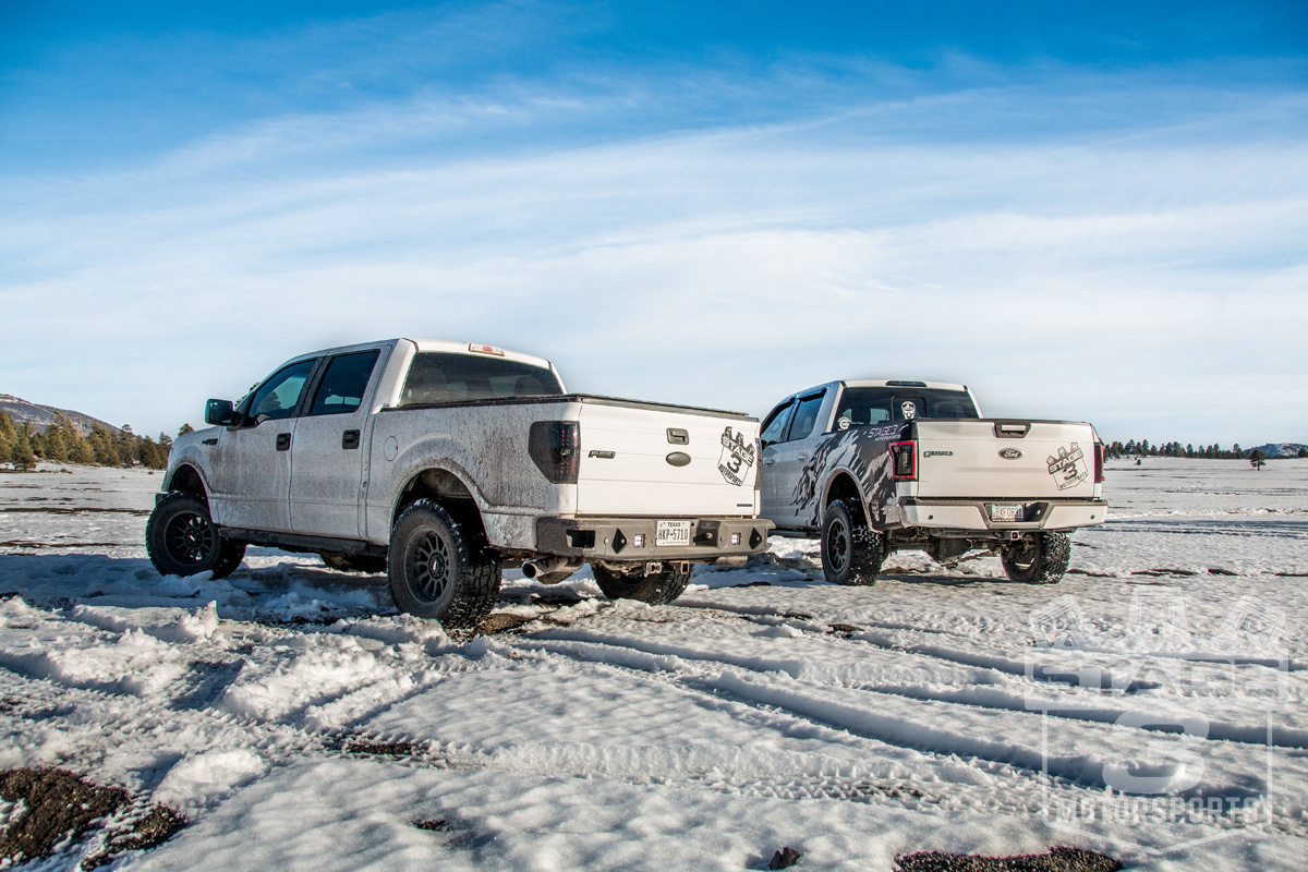 Stage 3's 2015 F150 XLT EcoBoost Off-Roading