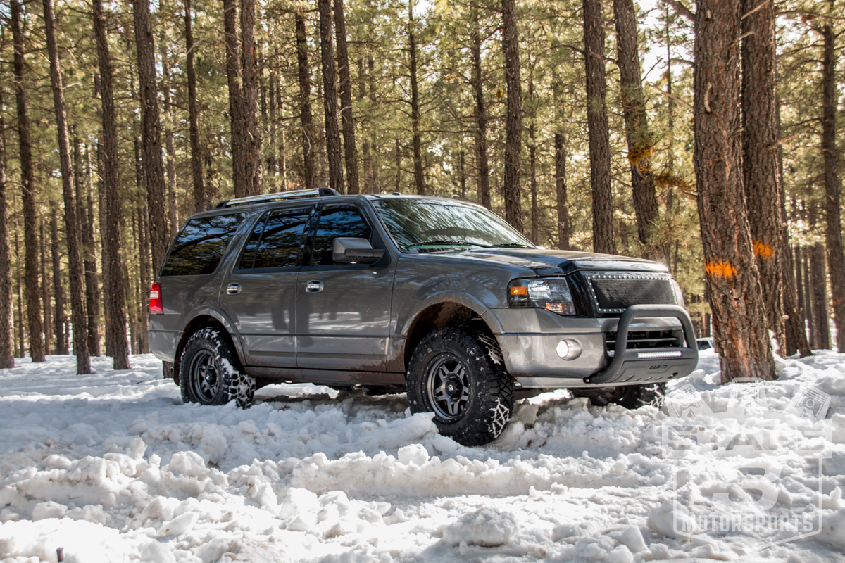 2012 Expedition with Fuel Anza Wheels and Nitto Ridge Grappler Tires