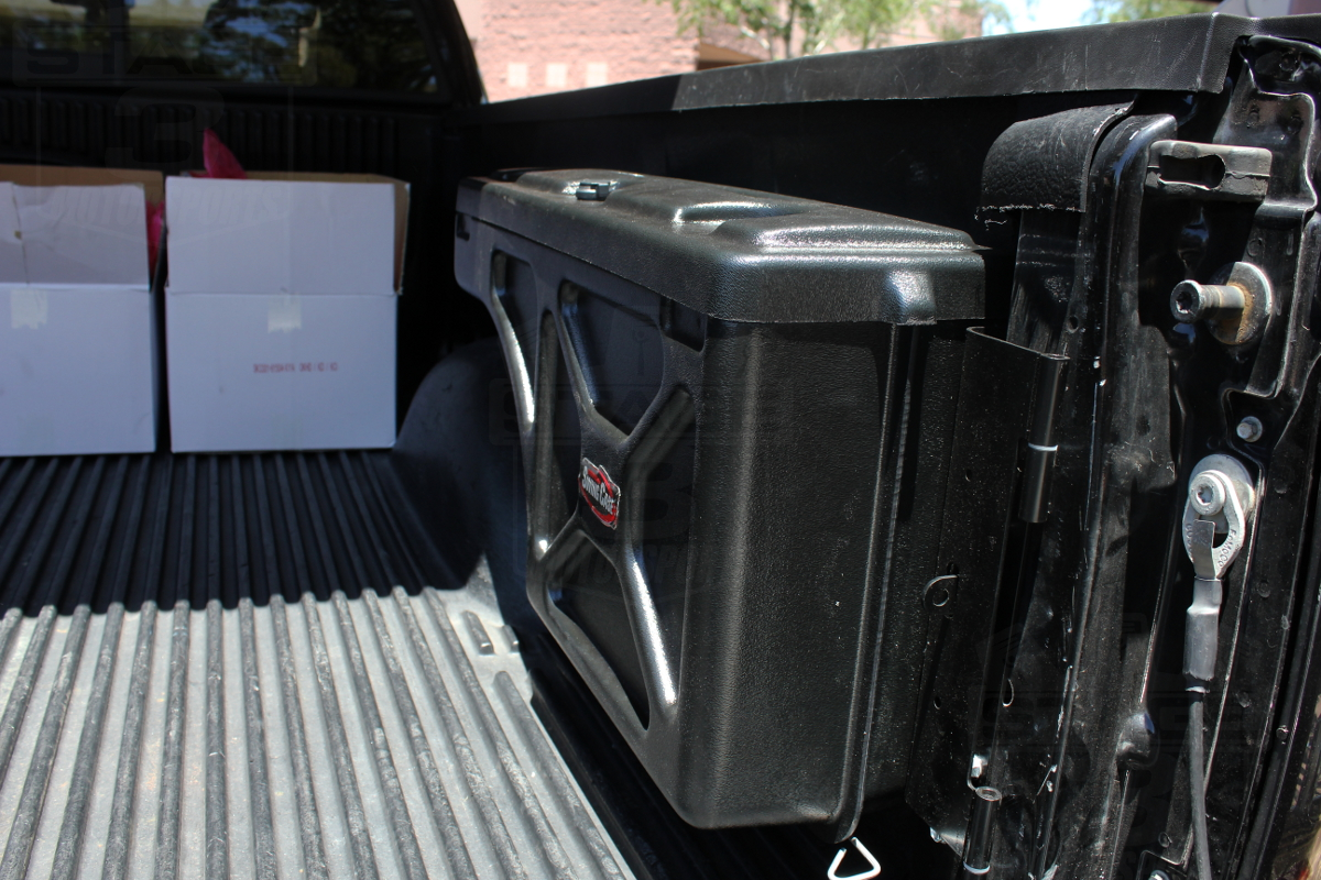 2004-2014 F150 Swing Case Install (Plastic Bed Liner