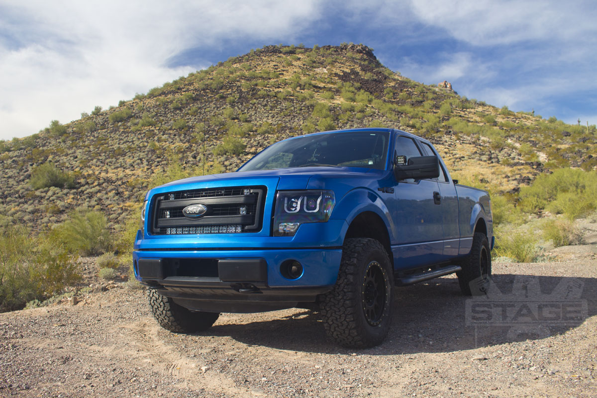 2009-2013 F150 Fox Stage 1 Suspension Package