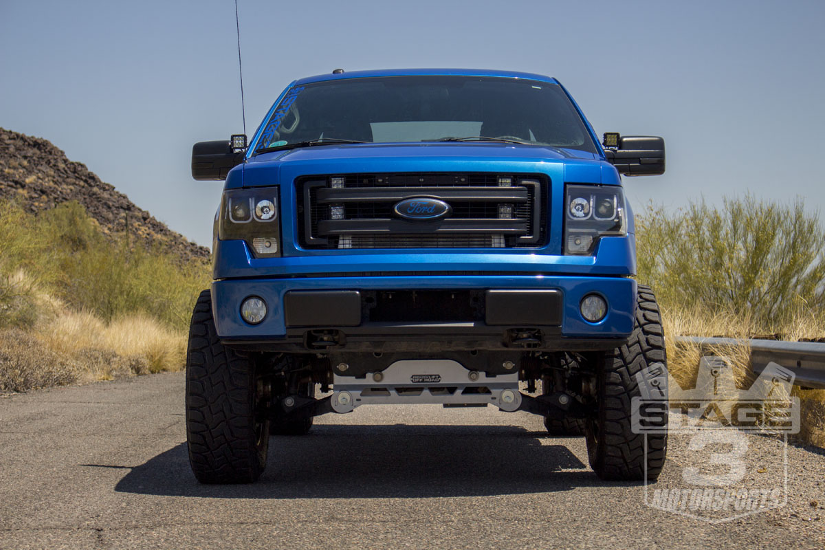 Stage 3's 2013 F150 5.0L SuperCab Project Truck
