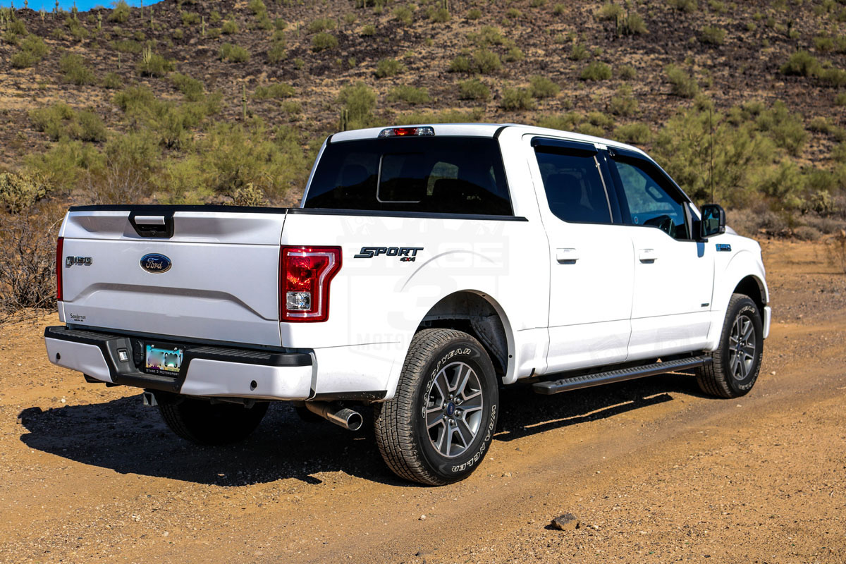 2015 f150 3 5l ecoboost xlt project truck supercrew oxford white xlt sport trim with a moonroof definitely not shabby at all the actual build up is