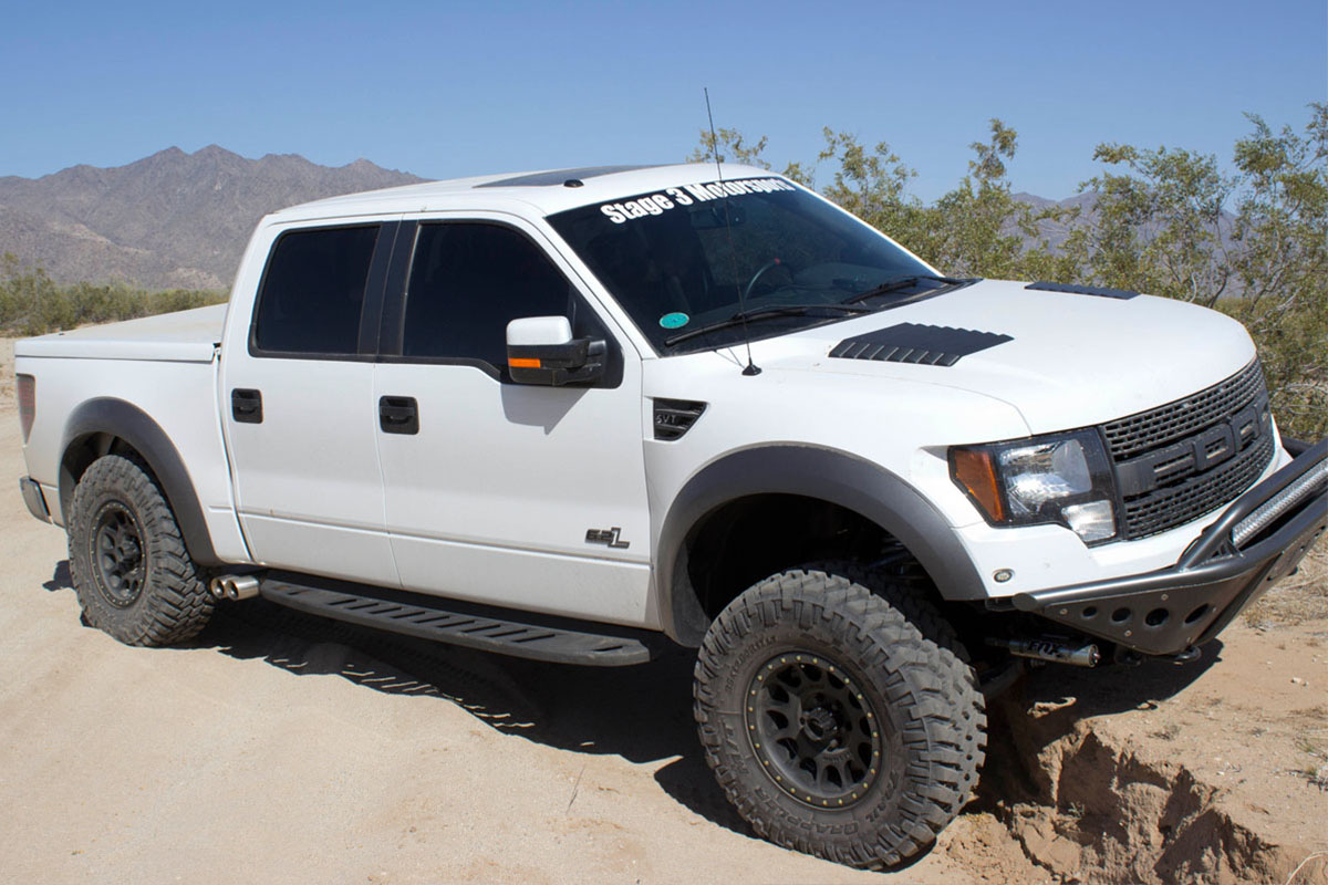 Stage 3's Project Desert Raptor