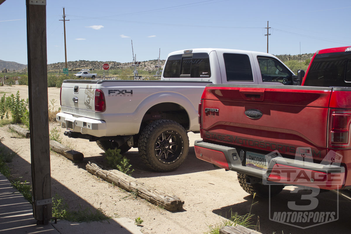 2014 F250 Super Duty with Fusion Off-Road Front & Rear Bumpers