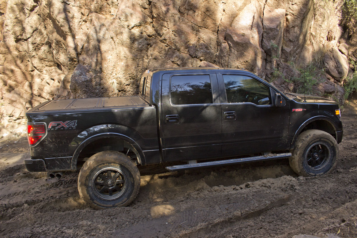 stage 3 s box canyon trail run with a 2012 f150 ecoboost with a 6 inch