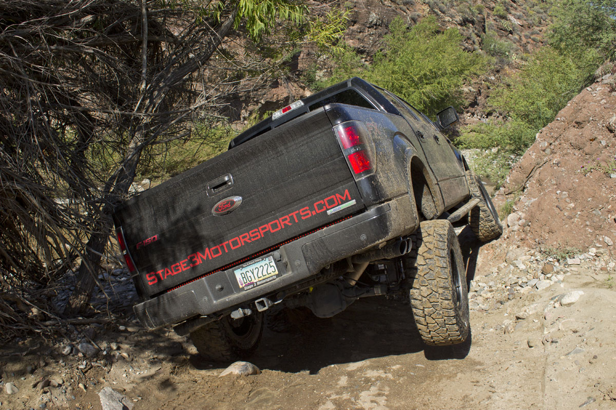 Stage 3's Box Canyon Trail Run with a 2012 F150 EcoBoost with a 6-Inch Lift Kit