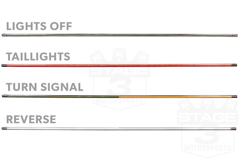 putco 60 blade led tailgate light bar 91009 60. Black Bedroom Furniture Sets. Home Design Ideas