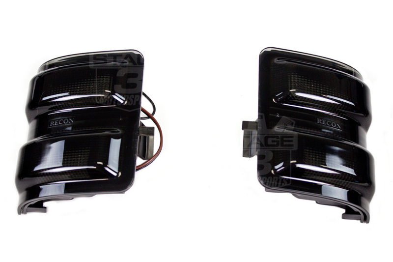 01 F250 Headlights >> 2008-2015 F250 & F350 Recon Lighting LED Side Mirror ...