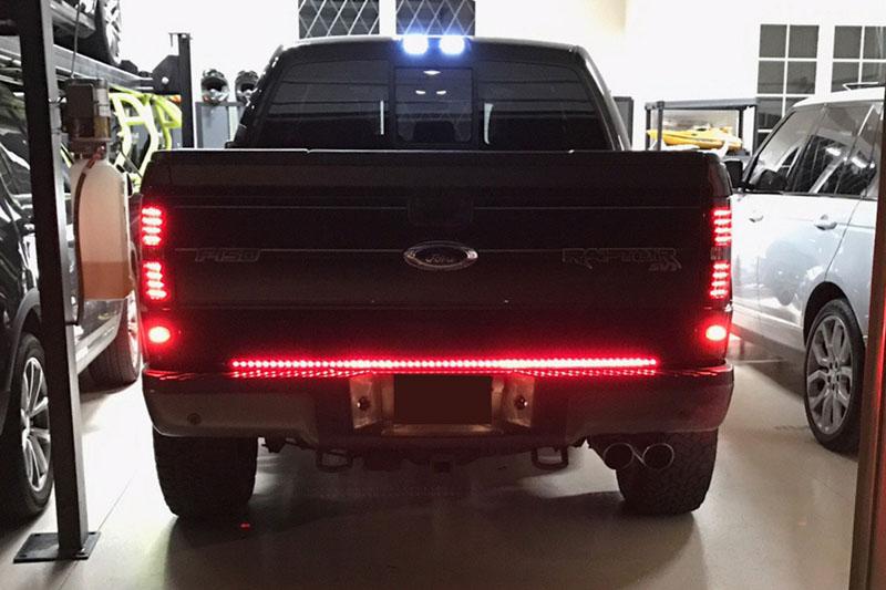 """Ford Raptor Price >> 60"""" Recon White Lightning Tailgate LED Light Bar 26416"""