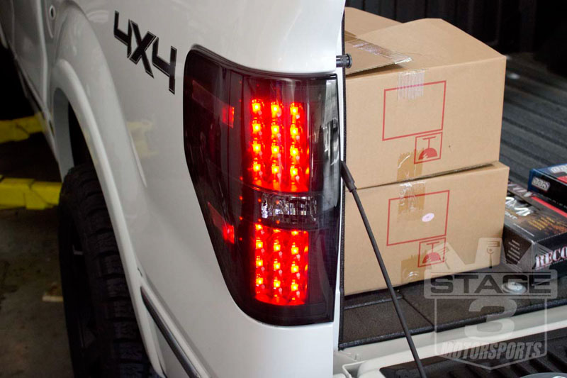 R264168BK2009 2013F150RaptorReconLEDTailLights(Smoked)19 2009 2014 f 150 headlights & tail lights  at alyssarenee.co