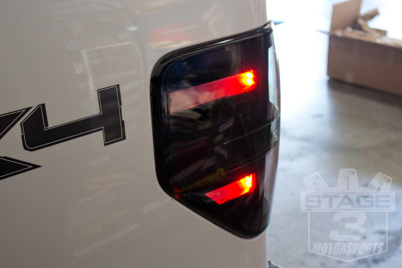 2009 2014 f150 raptor recon led tail lights smoked 264168bk. Black Bedroom Furniture Sets. Home Design Ideas