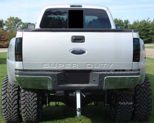 2008 2016 Super Duty Recon Smoked Led Tail Lights 264176bk