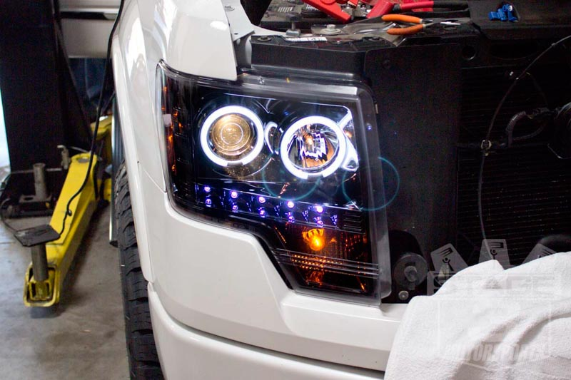 2009-2014 F150 & Raptor S3M Recon Lighting Package (Smoked ...
