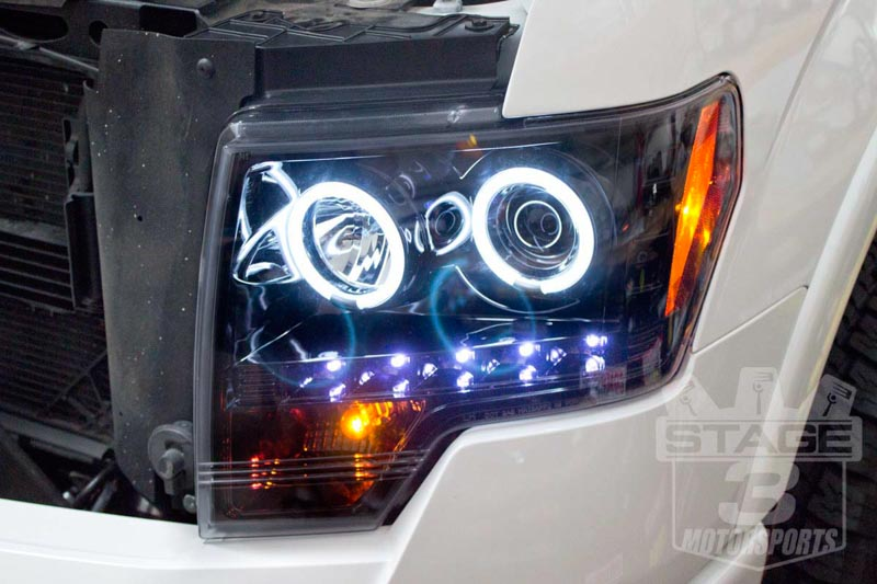 Recon 2009-2014 F150 Halo Headlights