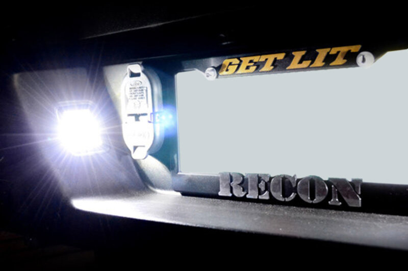 2015 2017 F150 Recon Led License Plate Illumination Kit 264905