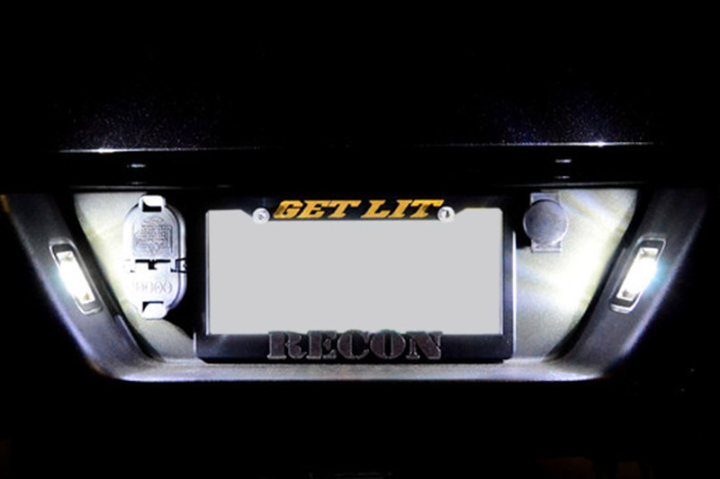 Recon License Plate Lights