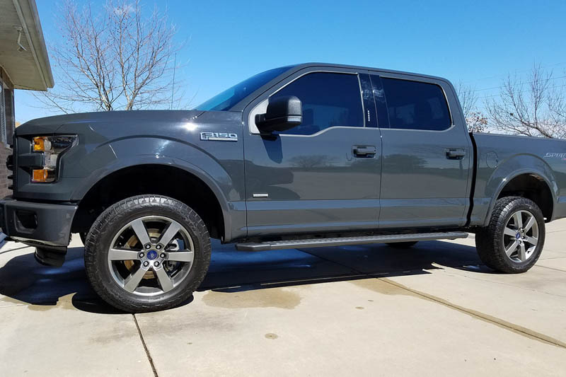 f150 kit leveling lift country rough