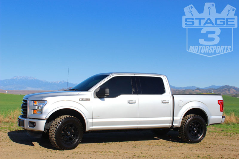 2015 2018 f150 readylift 2 25 front strut extension leveling kit 66 2215