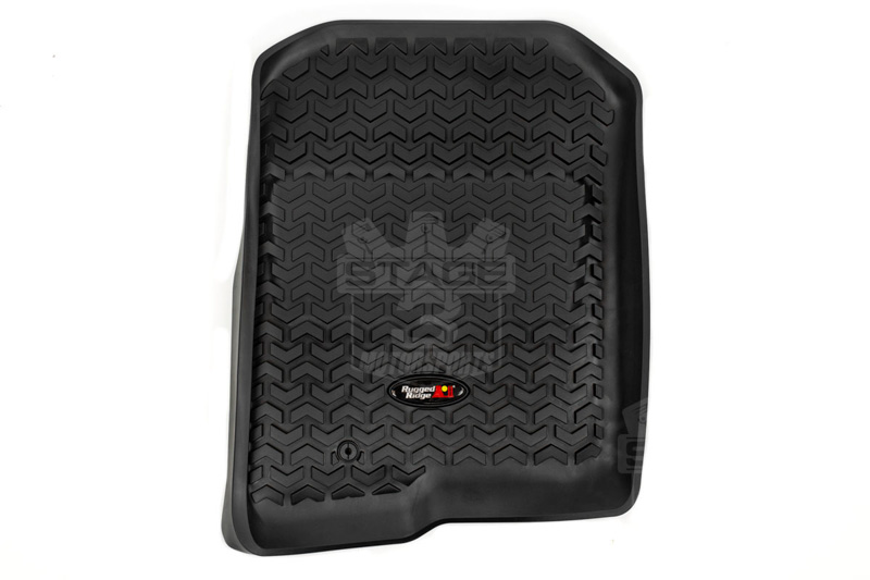 Rugged Ridge Floor Mats F150 2004-2008 F150 Rugged Ridge Front & Rear Floor Liners 3 ...