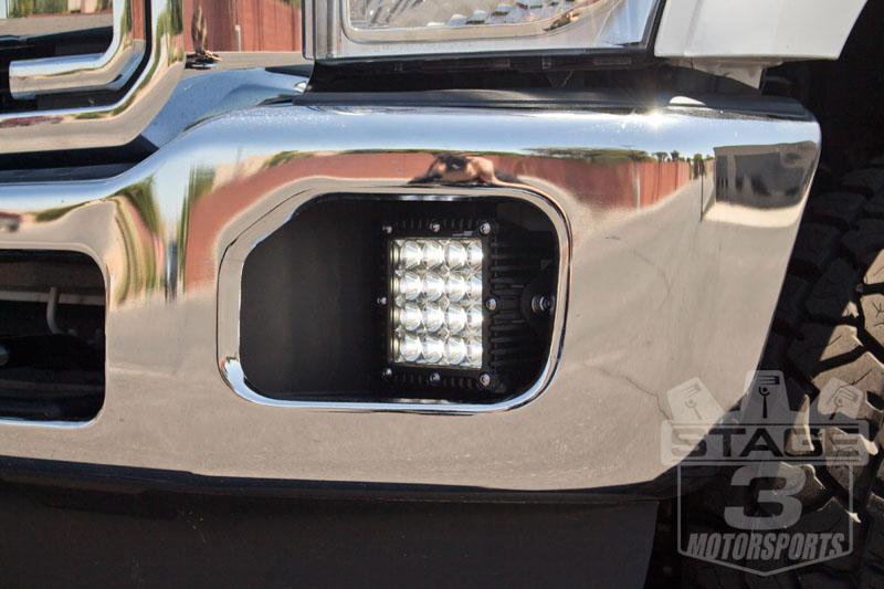 2011 2016 Ford F250 F350 Q Series Led Complete Fog Light