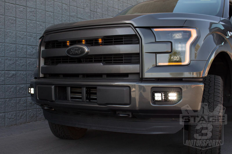 Rigid Industries Dual D Series Fog Light Mounting Kit