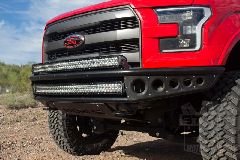 2015 F150 3.5L EcoBoost with a Rogue Racing Rebel Front off-Road Bumper