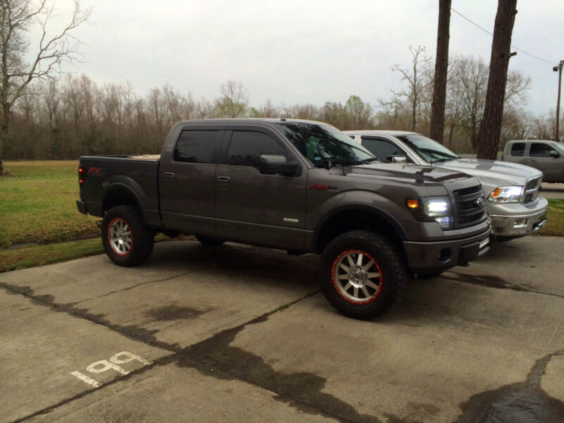 rancho 4 inch lift kit on an f150