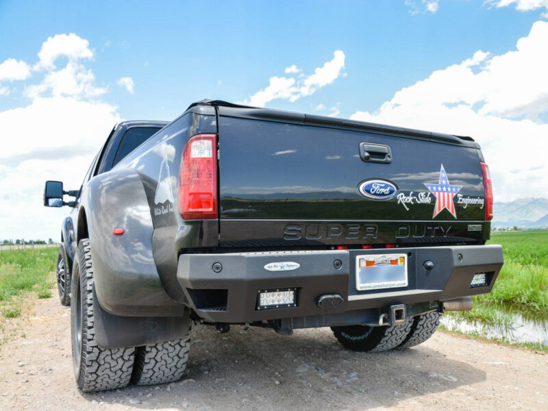 Courtesy Ford Sanford Bumpers > Rear Bumpers > 2011-2016 F250 & F350 Rock-Slide Rear Bumper ...