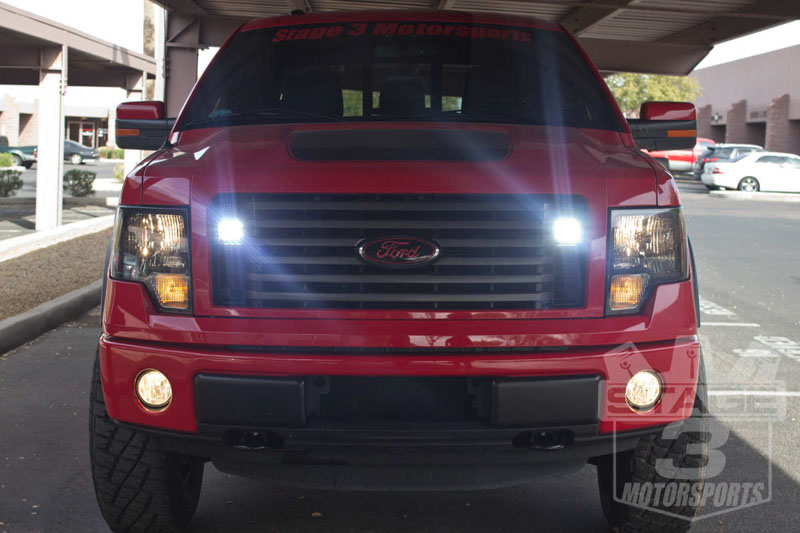 Stage 3's F150 Project Truck - Rigid D2-Series LED Lights