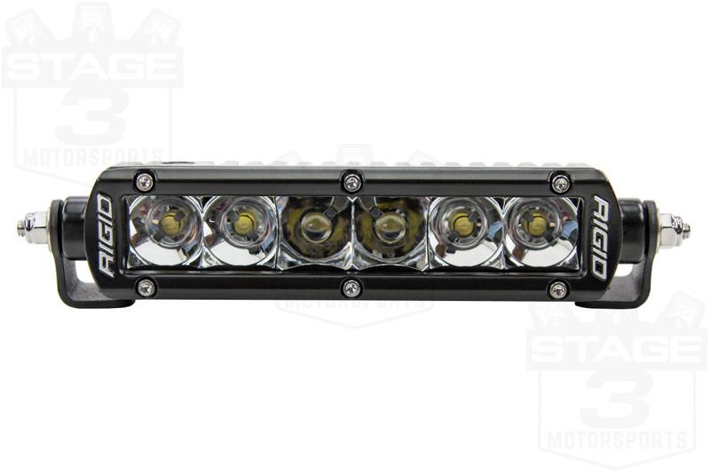 rigid industries 6 inch sr series led light bar spot flood combo 906322
