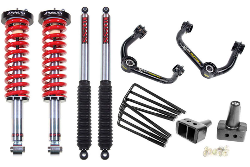 2009-2014 F150 Stage 3 BOSS Trail Suspension Pack 2