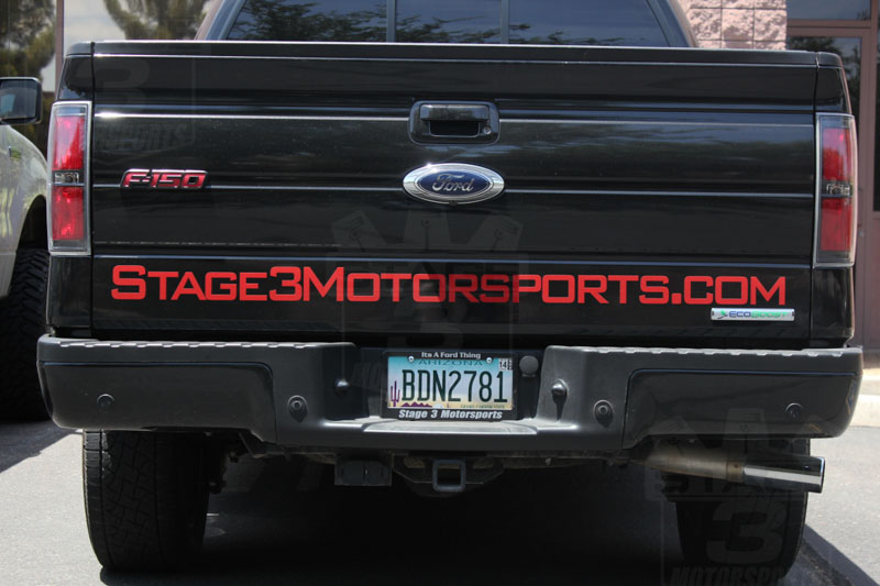 Stage 3's F150 Tailgate Banner