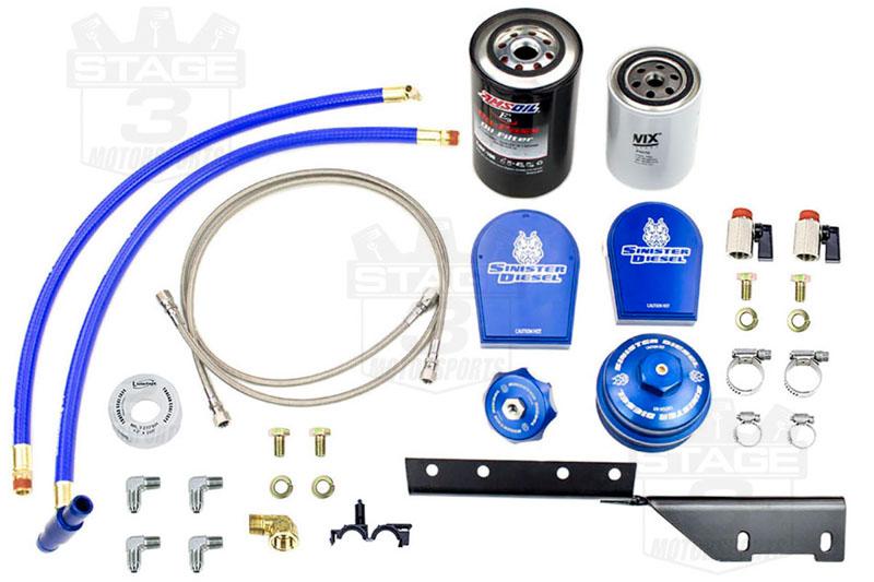2003 2007 f250 f350 6 0l sinister diesel oil coolant filtration system sd eof cf 6 0