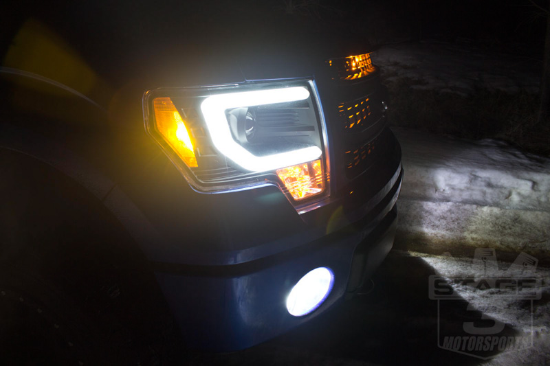 2009 2014 F150 Raptor Spyder Projector Headlights W Drl