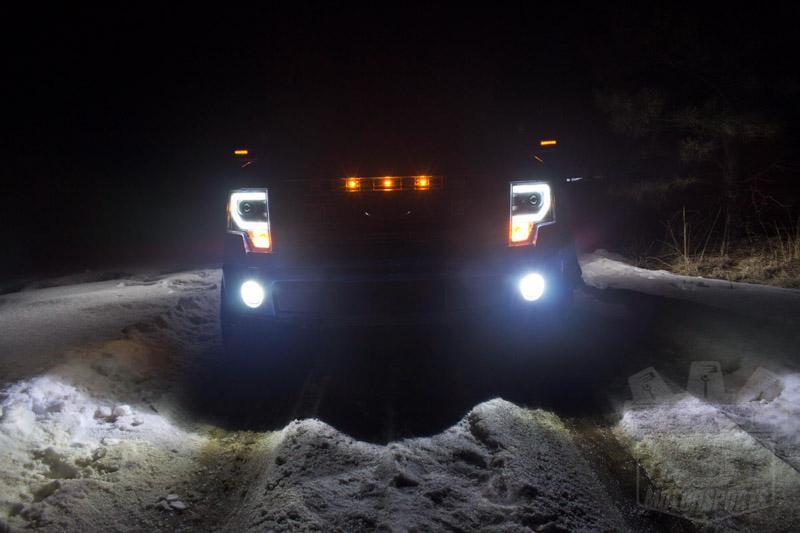 2009 2014 F150 Amp Raptor Spyder Projector Headlights W Drl Light Bar Black Sl5077646