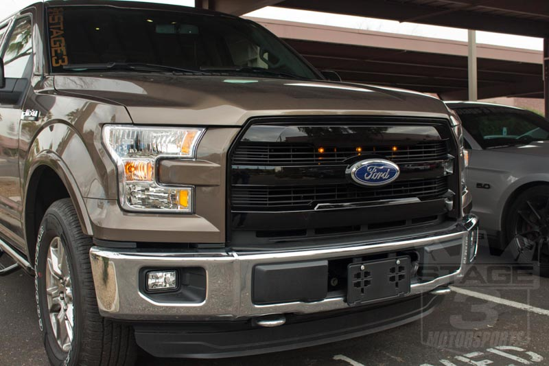 2015 2017 F150 Starkey Products Raptor Style Grille Light