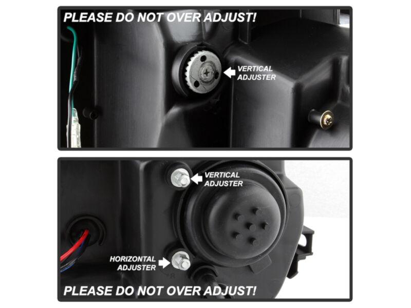 2015-2017 F150 Spyder LED Light Bar Projector Headlights ...