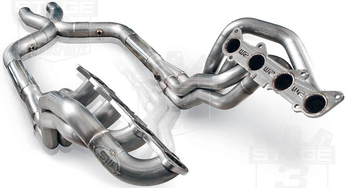 2011-2014 Mustang GT 5.0L Stainless Works Long Tube Headers Package