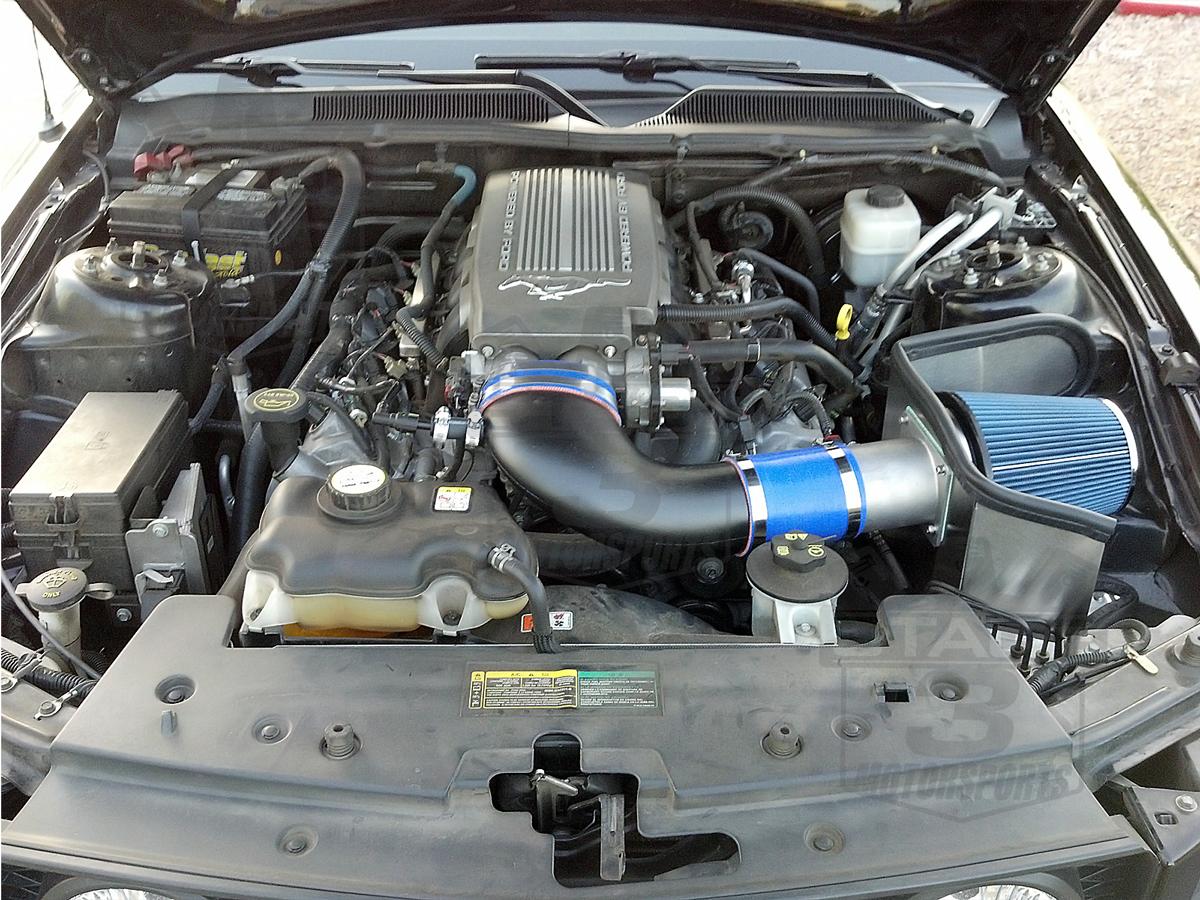 2005 2009 Mustang Gt 4 6l Steeda Proflow Cold Air Intake