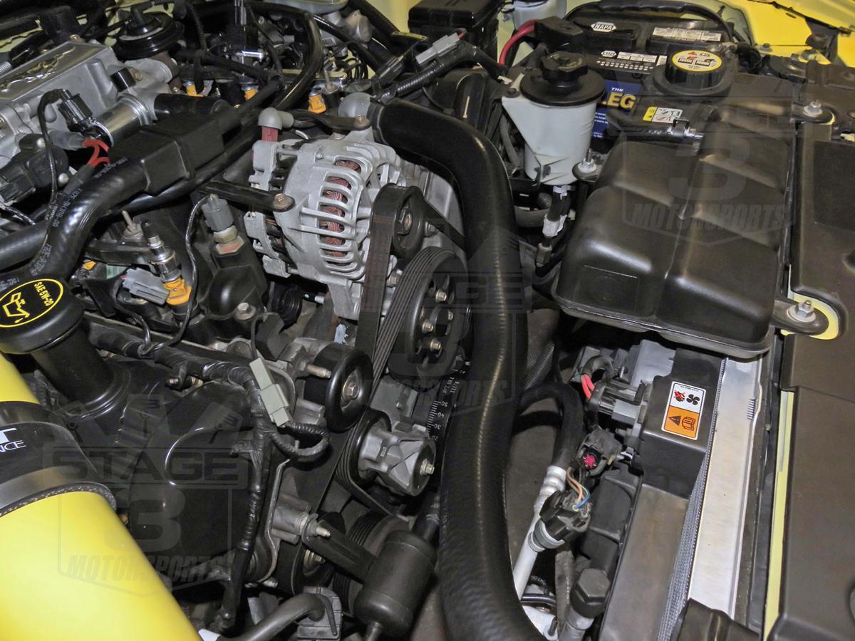 2001 2004 Mustang Gt 4 6l Steeda Underdrive Pulley Kit 701