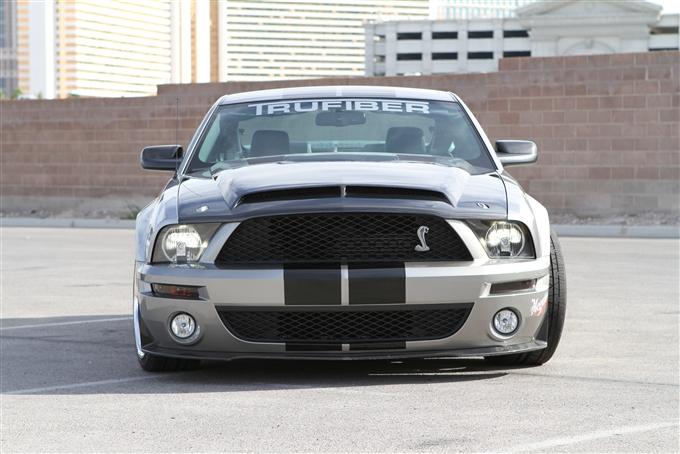 Gt500 Carbon Fiber Hood >> 2007-2009 Shelby GT500 TruCarbon A53KR Venom Hood 10024-A53KR