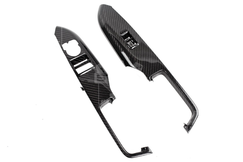2015 Mustang TruFiber Carbon Fiber Window Switch Covers