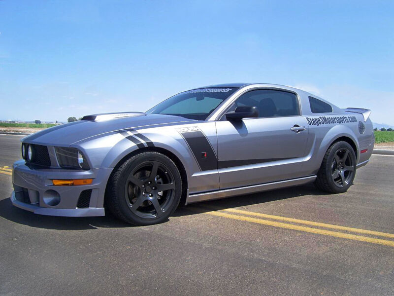 Stage 3 s 2007 mustang gt project t roush
