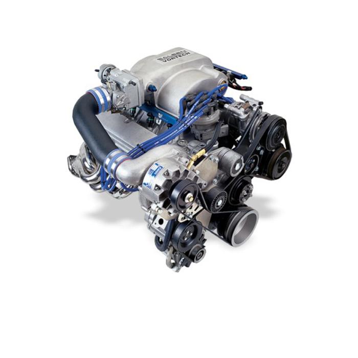 Vortech V3 Si Trim Supercharger: 2003-2004 Mustang Mach 1 4V 4.6L Vortech V-3 Supercharger
