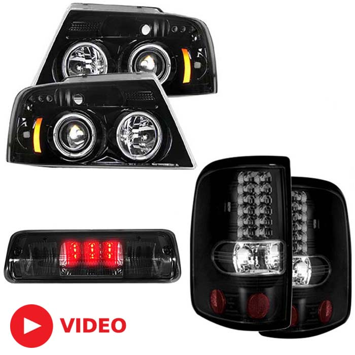 sc 1 st  Stage 3 Motorsports & 2004-2008 F150 S3M Recon Lighting Package (Smoked) R0408RLP azcodes.com