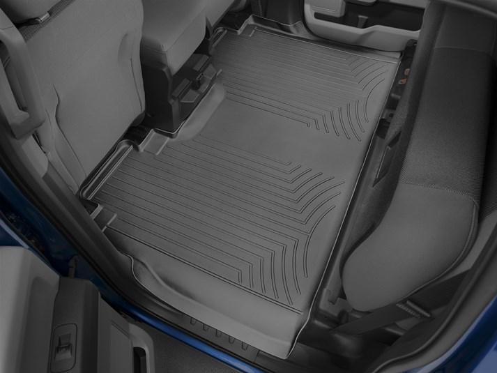 2015 2018 F150 Supercrew Weathertech Floor Digitalfit Rear