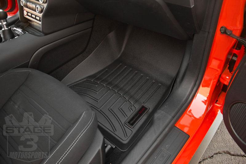 Weathertech winter mats - 2015 2017 Mustang Weathertech Front Digitalfit Floor Mats Black 446991