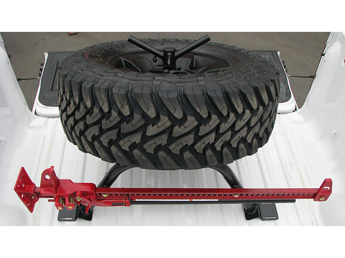 2004 2014 F150 Wilco Off Road Angled Bed Mount Tire