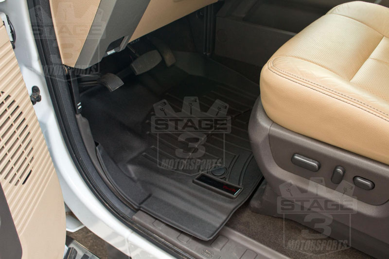 Weather Floor Mats >> 2011-2016 F250 & F350 Super Duty SuperCab WeatherTech Digital Fit Front & Rear Floor Mats