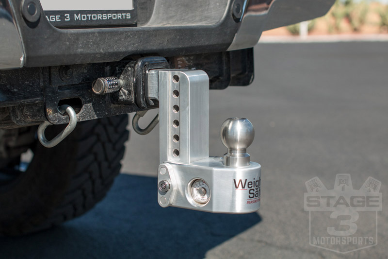"""Weigh Safe Hitch >> Weigh Safe 6-Inch Drop Hitch w/ Built-In Scale - 2"""" Shaft WS6-2"""